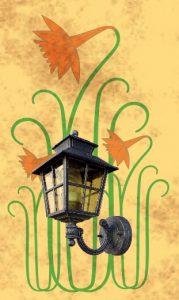 fleur et lanter